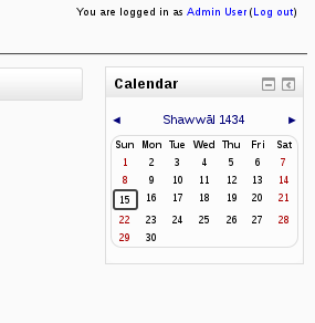 MDL-18375] Displaying and selecting dates throughout Moodle should