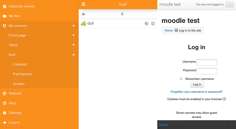 [MOBILE-953] SSO from app to moodle site when using non ...