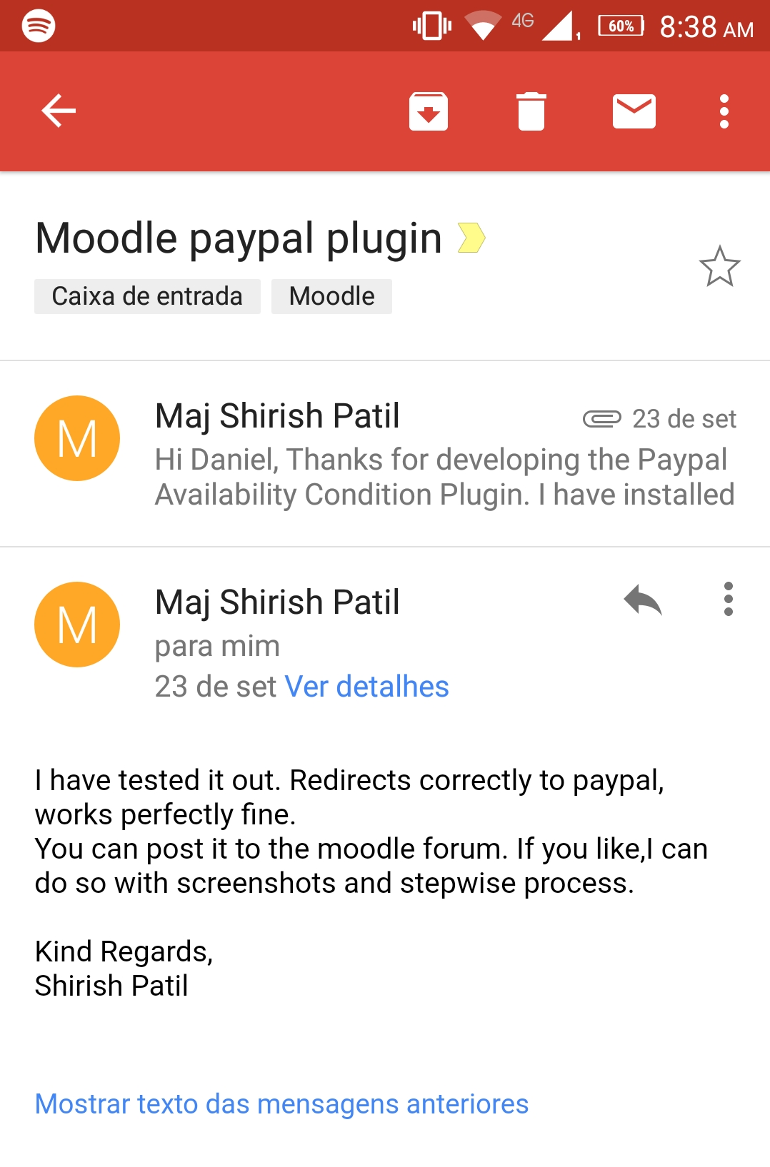 MDL-63603] Add Indian Rupee to PayPal enrolment currencies - Moodle