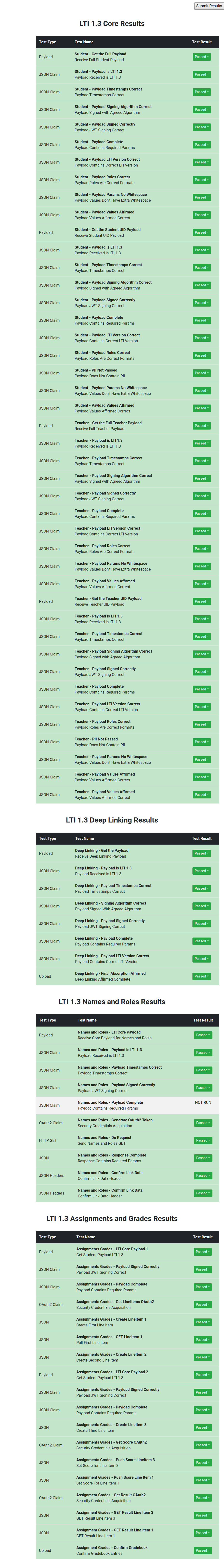 MDL-65536] LTI 1 3 post-landing issues - Moodle Tracker
