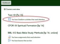 Dataform activities in Course Overview Block.jpg