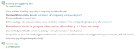 Moodle in English showing posting and coursepage intros.png