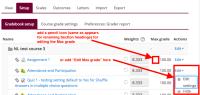 Moodle Gradebook - Enable editing Max grade inside Gradebook Setup.png